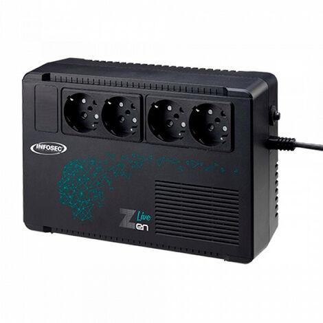 Infosec - Onduleur INFOSEC Zen Live 500 (500 VA / 300 Watts)