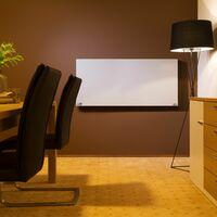 Infrared heater 900 W - panel heater, bathroom heater, garage heater - white