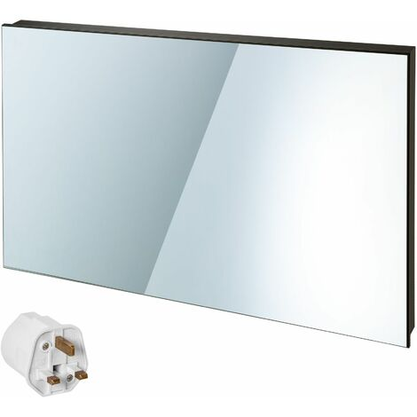Infrared heater mirror