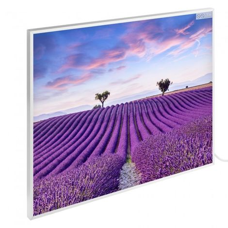 Infrared Heating Wall Heating Electric Heater Panel Heating 300W Motive Lavender
