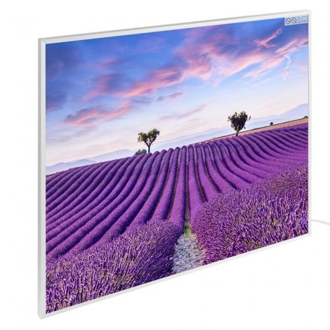 Infrared Heating Wall Heating Electric Heater Panel Heating 450W Motive Lavender