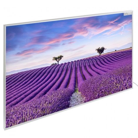 Infrared Heating Wall Heating Electric Heater Panel Heating 580W Motive Lavender