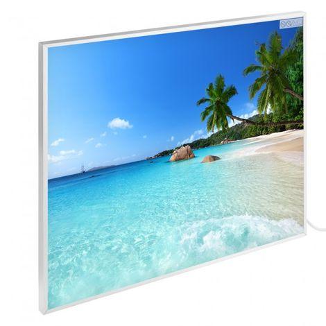 Infrared Heating Wall Heating Electric Heating Panel Heating 300 W Motive Beach