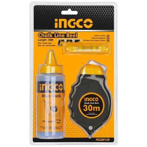 INGCO TIRALINEAS 30 M +POLVOS