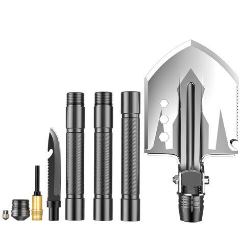 Ingenieur pelle multifonctionnelle exterieure pliante pelle militaire camping camping fournitures equipement de survie auto-defense