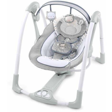 Ingenuity Columpio portatil de bebé eléctrico Braden