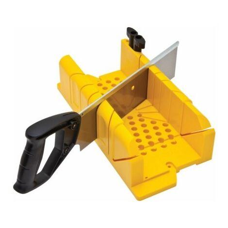 Ingletadora Manual 300X130Mm Con Serrucho Plastico Resistente Stanley
