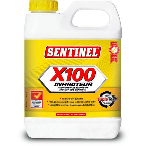 """main image of """"Inhibiteur X100 1l - SENTINEL : X100L-12X1L-FR"""""""