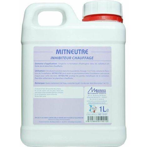 Inhibiteur pour circuit de chauffage, Mit Neutre 1 litre