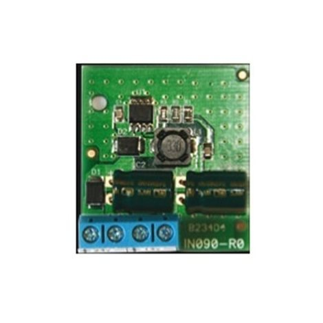 INIM STD241201 BURGLAR ALARM power supply module step-down from 24Vdc to 12Vdc.