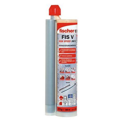 Injektionsmörtel FIS V 1 Kartusche 360 ml,2xFIS Easy Mixer HS 360 S FISCHER