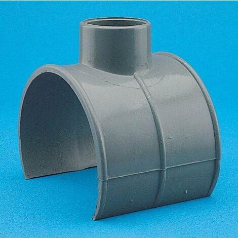 INJERTO PVC A TUBO 90§ 100-110-125/50