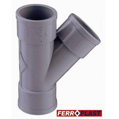 INJERTO PVC GR. H-H 45 32MM. 205083