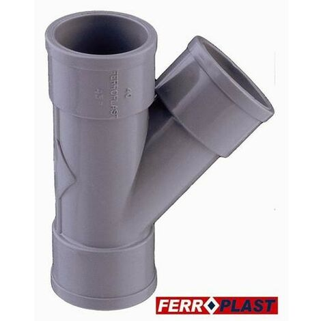 INJERTO PVC GR. H-H 45 40MM. 205029