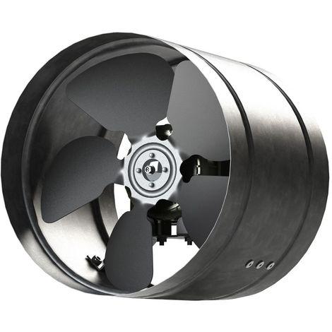 Inline Duct Fan 210mm Zinc Plated Metal aRw Ducting Industrial Extractor Fan