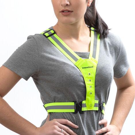 InnovaGoods Arnés Reflectante con LED para Deportistas InnovaGoods