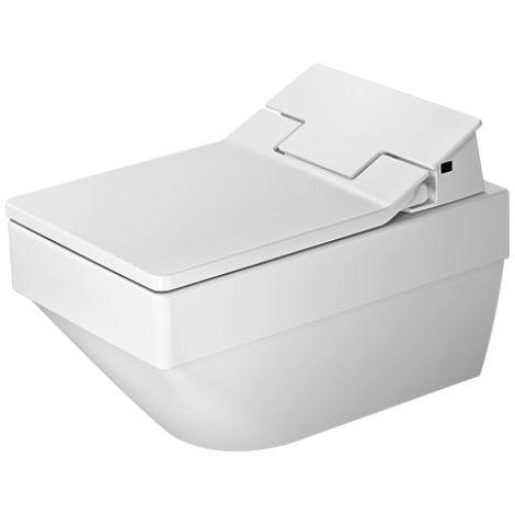 Inodoro de pared Duravit Vero Air Duravit Rimless para SensoWash®, 252559, color: Blanco con Wondergliss - 25255900001