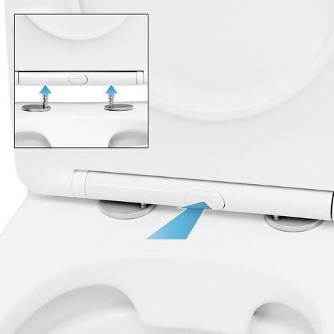 WC sin reborde