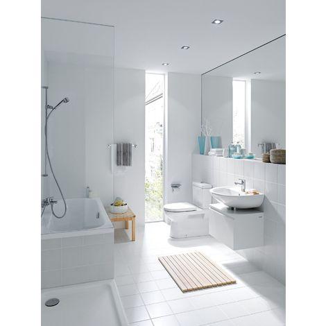 Inodoro lavabo independiente Laufen PRO, salida vertical en el interior, 360x670, blanco, color: Blanco con LCC - H8249574000001