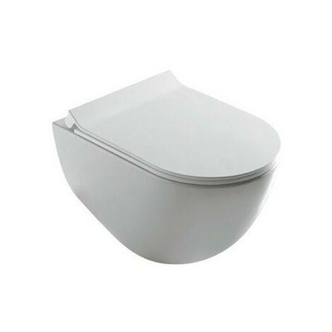 Inodoro suspendido 36x56x36 cm de cerámica Galassia Dream   Blanco