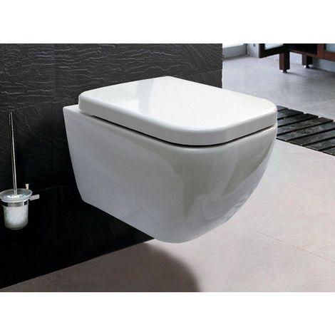 Inodoro suspendido, conjunto de inodoro suspendido + asiento de cierre suave CH101