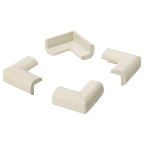 INOFIX - Protection de coin adhésive blanc - lot de 4