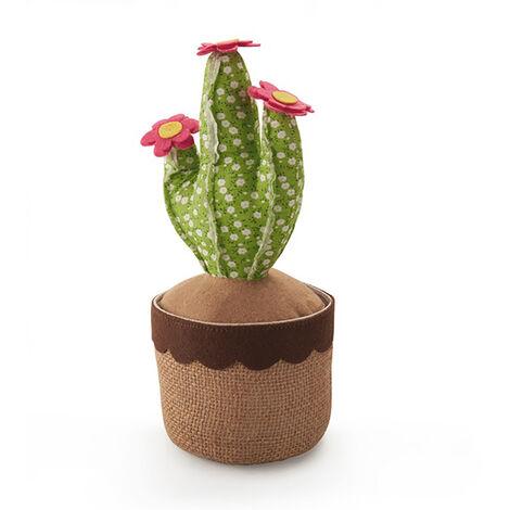 "main image of ""INOFIX Tope textil sujetapuertas 1kg cactus verde. inofix"""