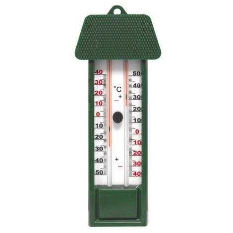 INOVALLEY - Thermomètre mini-maxi plastique sans mercure - coloris assortis