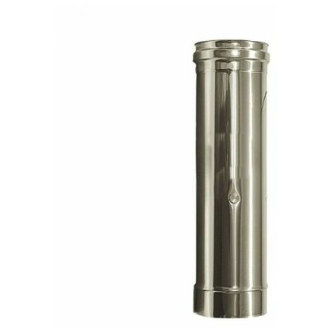 inox conduit ÉLÉMENT VAPEURS D. 120 mm. TUBE ACIER INOX 316