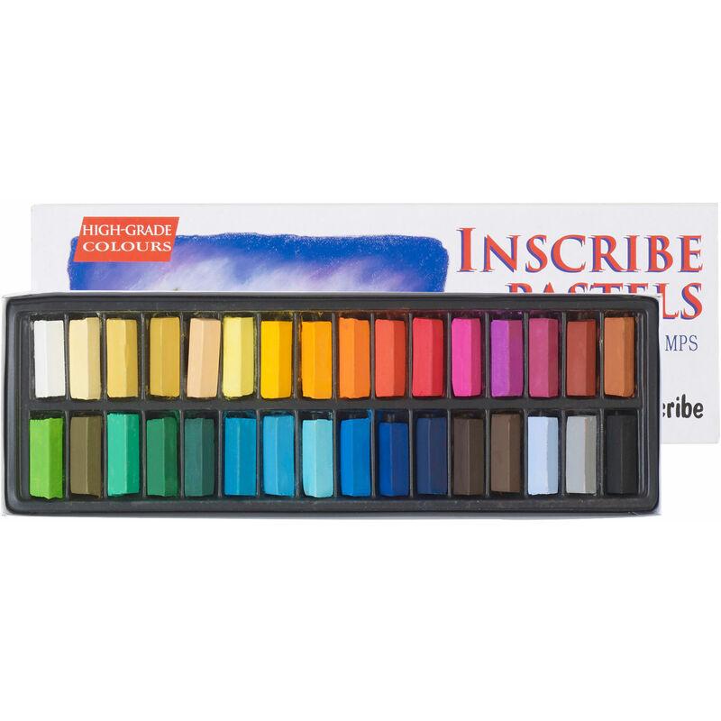 Image of IMPS32 Soft Pastel Set 32 Colours - Inscribe