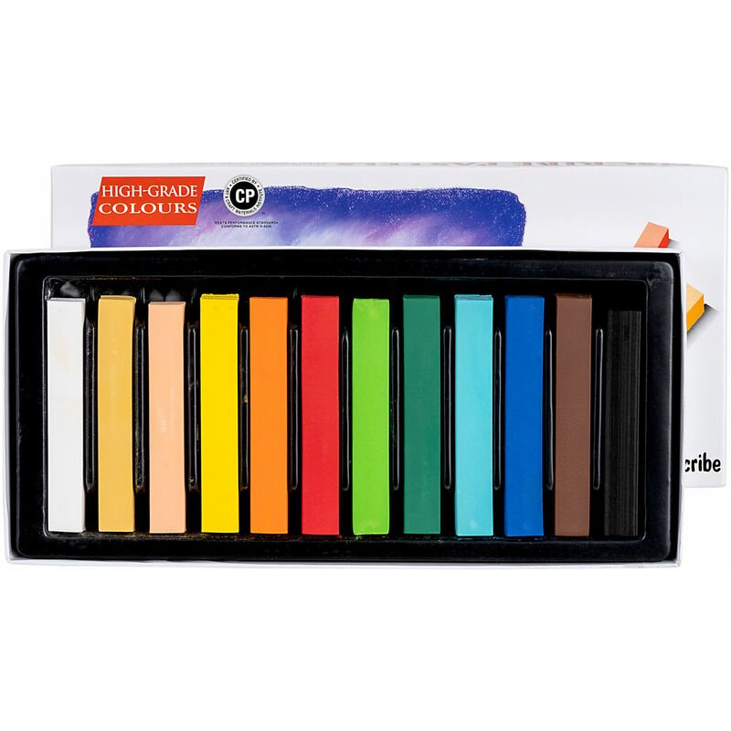Image of IMPSF12 Soft Pastel Set 12 Colours Full Size - Inscribe