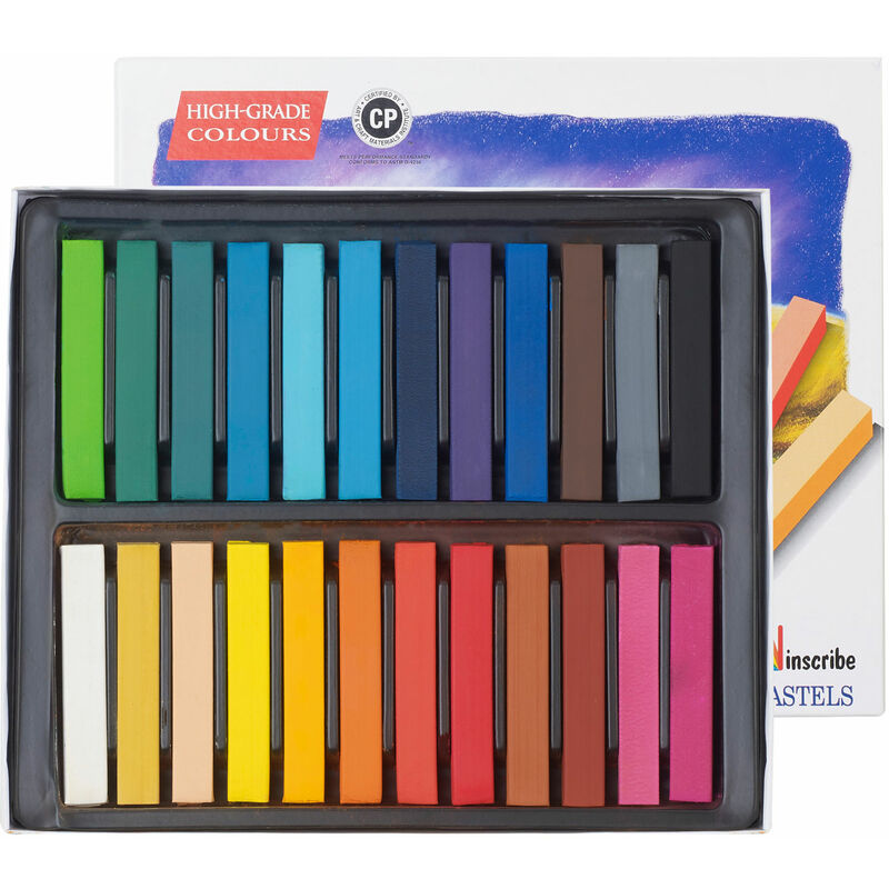 Image of Inscribe IMPSF24 Soft Pastel Set 24 Colours Full Size