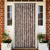 Insect Curtain 100 x 220cm Brown-Beige