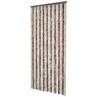 Insect Curtain 90 x 220 cm Brown-Beige