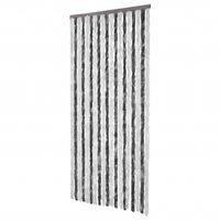 Insect Curtain 90 x 220 cm Grey-white