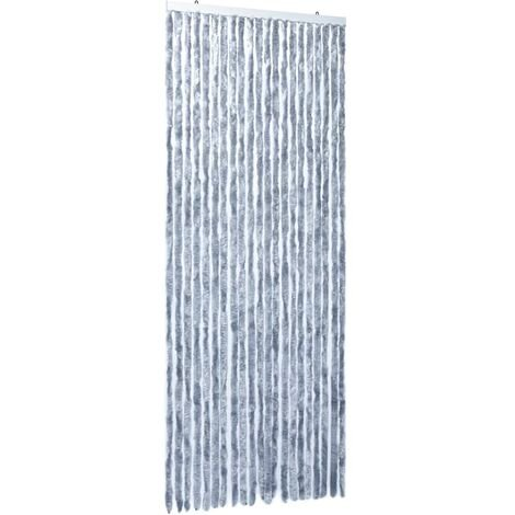 Insect Curtain Silver 90x220 cm Chenille