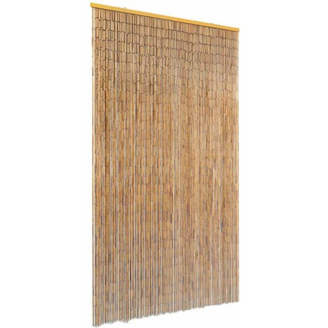 Insect Door Curtain Bamboo 100x200 cm