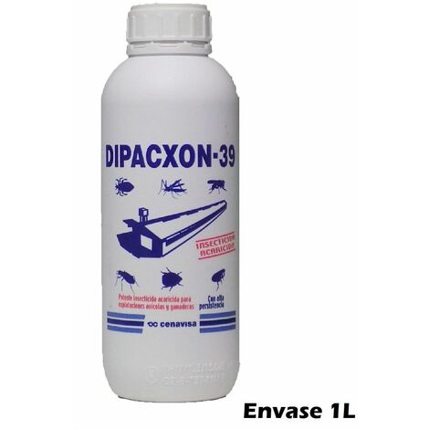 Insecticida acaricida DIPACXON 39 para explotaciones avícolas y ganaderas - 1L