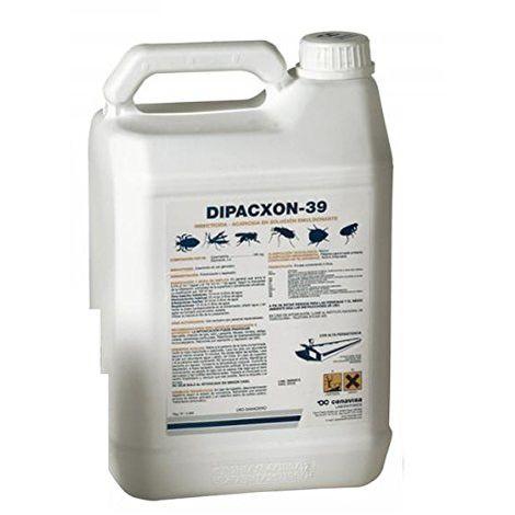 Insecticida acaricida DIPACXON 39 para explotaciones avícolas y ganaderas - Garrafa 5 L