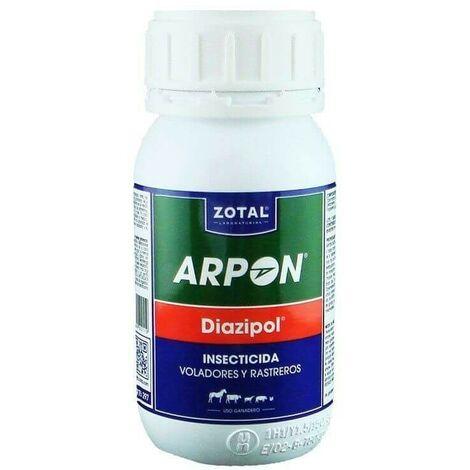 Insecticida para insectos voladores y rastreros ARPÓN DIAZIPOL 250 ml