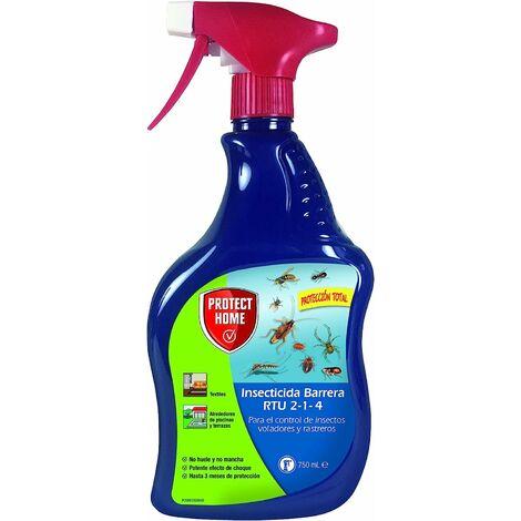 Insecticida Barrera Total Blattanex anti cucarachas y voladores 750ml