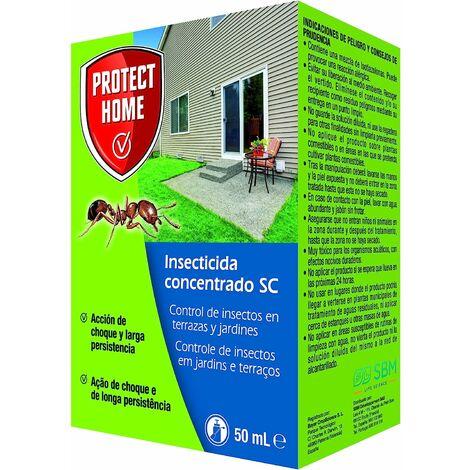Insecticida Concentrado SC para el Control de Hormigas en Exteriores , Acción de Choque y Larga Persistencia