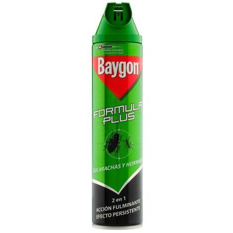"""main image of """"Insecticida cucarachas/hormigas conc. baygon 600 ml"""""""