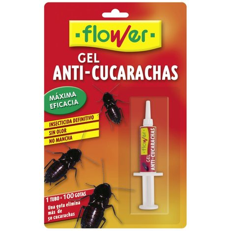 Insecticida Cucas Cebo Gel - FLOWER - 20543