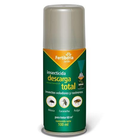 Insecticida Descarga Total FERTIBERIA 100 ml
