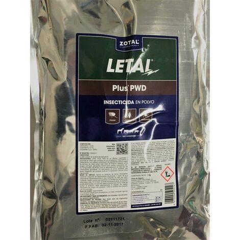 Insecticida en polvo microgránulo LETAL PLUS 1 kg