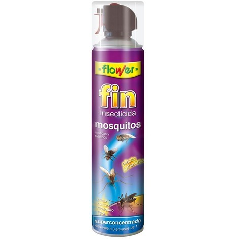 Insecticida Fin Mosquitos Flower 800 ml