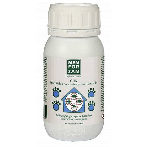 Insecticida MENFORSAN concentrado emulsionable contra insectos rastreros y otros