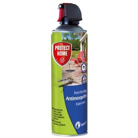 Insecticida persistente de exteriores antimosquitos tigre y moscas para balcones, terrazas y jardines 500ml