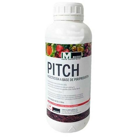 Insecticida Pitch 1 litro. Uso contra cochinilla y mosca blanca.